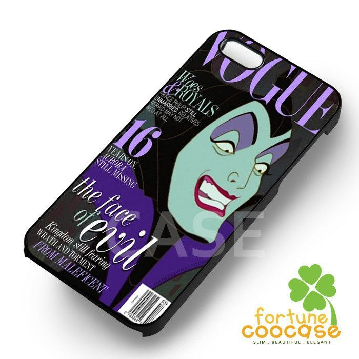Maleficent Vogue - 21z for iPhone 6S case, iPhone 5s case, iPhone 6 case, iPhone 4S, Samsung S6 Edge