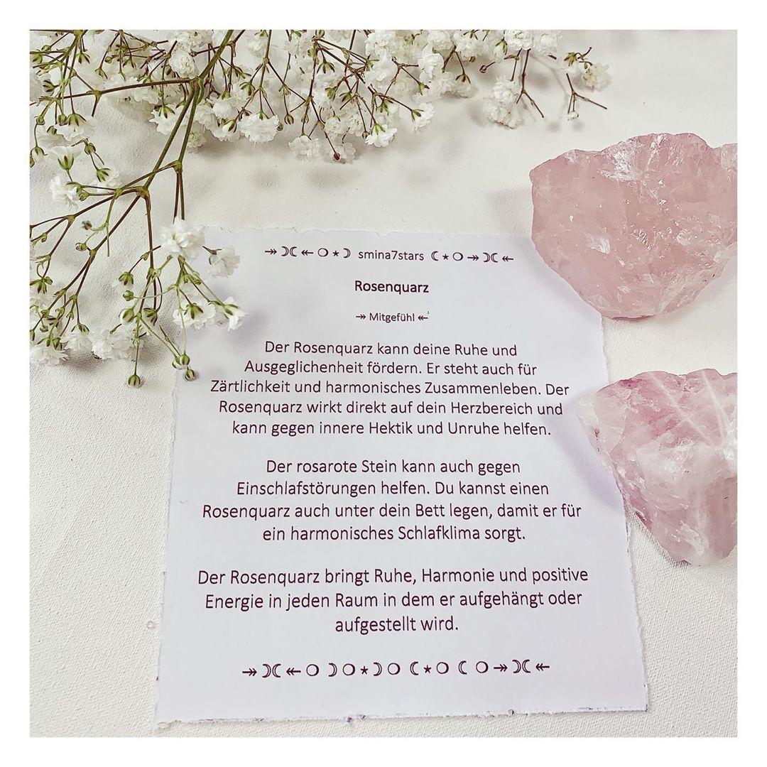 Rosenquarz Welche Bedeutung Hat Dieser Heilstein