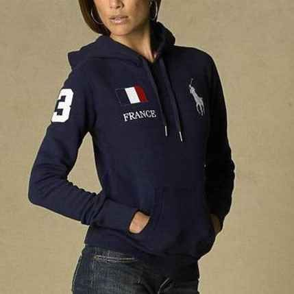 Polo Ralph Lauren Womens Flag Hoodie France LOVE !