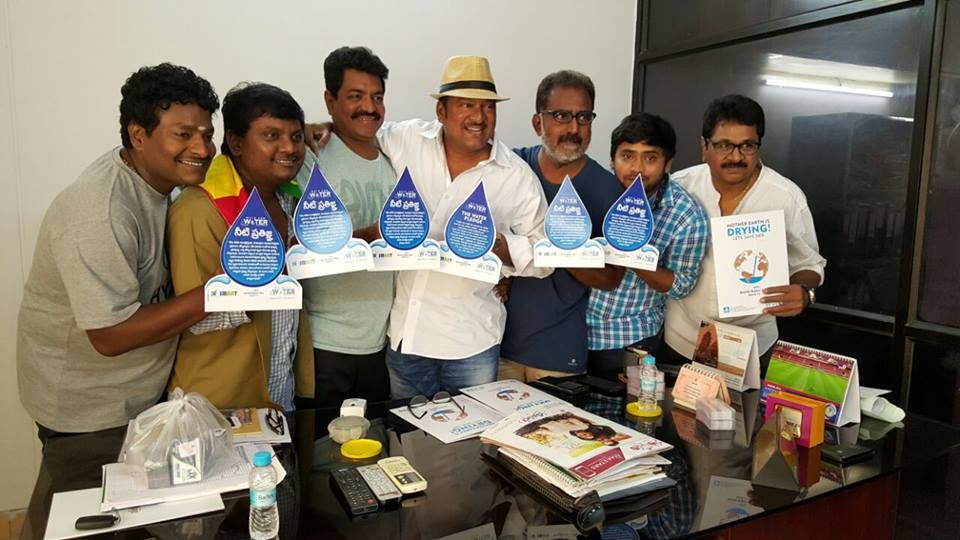 Thanks to Dr Rajendhra Prasad, all Film Fraternity Joins Blue Revolution and Shows thier concern for Walk for Water Social Momentum. Thanks to all for your kind support and Gesture. Join Blue Revolution Club - Save Water - Take a Pledge Now http://www.walkforwater.in/blue-revolution-club/ COME AND JOIN US IN THE BIGGEST WALKATHON – 2016 March 22nd 2016 - World Water Day Register Now: http://www.walkforwater.in/join-us/