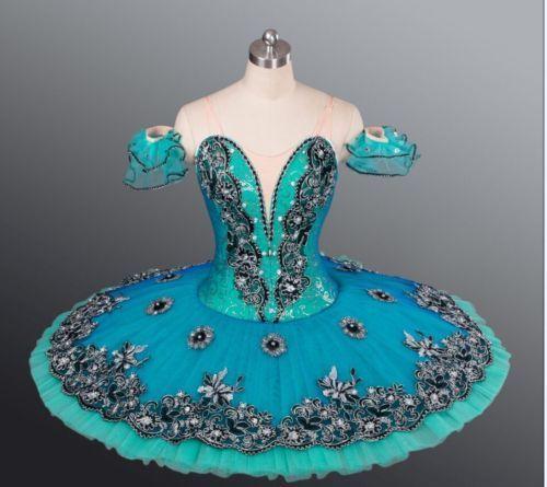 Professional-Classical-Ballet-Tutu-Costume-Green-Esmeralda-Custom-Order-MTO-YAGP