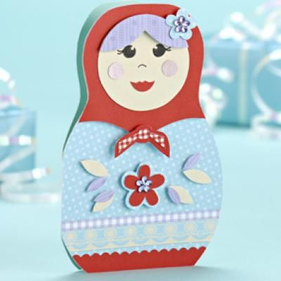 Free Printable Russian Doll Card Templates For Cards Nesting Dolls Diy Doll Gift Russian Doll
