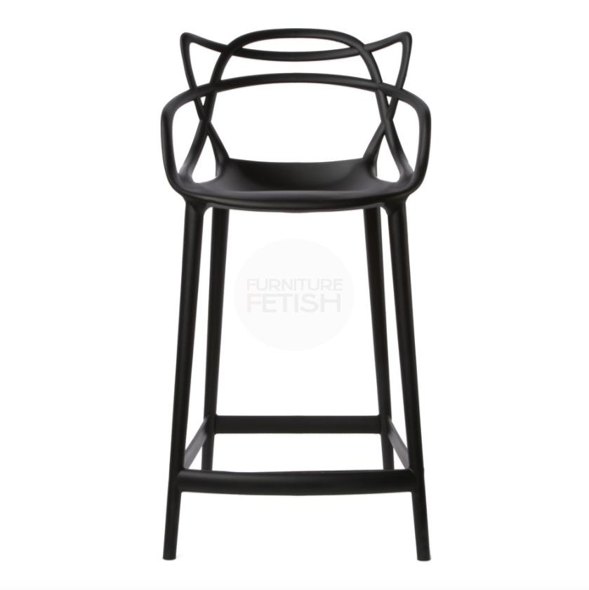 Premium Replica Philippe Starck Masters Stool Black 65cm Bar Decoracao