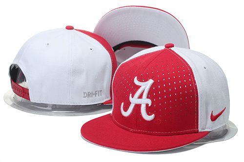 d4dcf708a15 Nike Alabama Crimson Tide Snapback Caps Red White