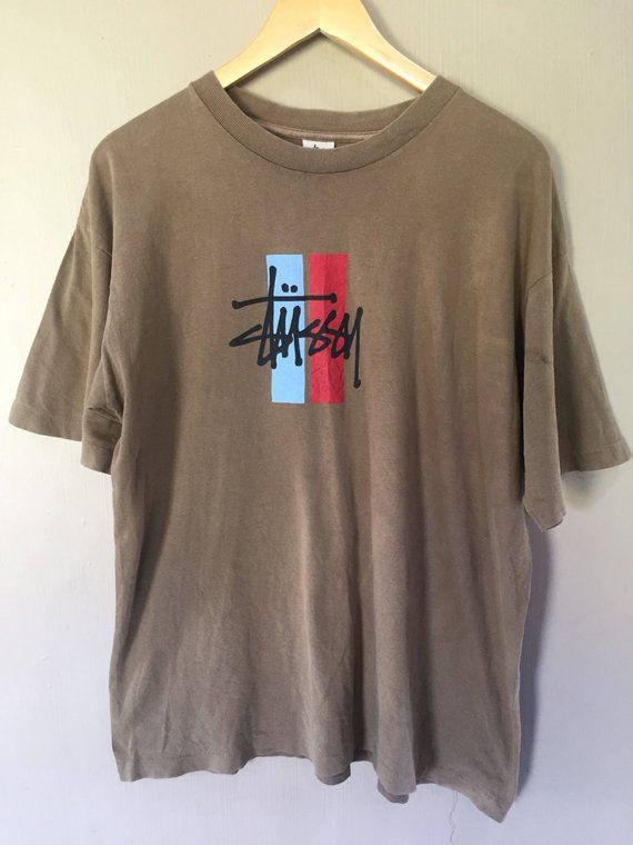 dad1dbce3b Vintage Stussy Streetwear Skateboard Supreme T shirt | Products ...