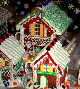 Still Have Left Over Halloween Candy Think Ahead Gingerbread Candy Decorating L Christmas Gingerbread House Gingerbread Christmas Tree Gingerbread Decorations