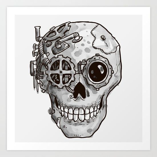Image result for steampunk skull (With images)   Skull art ...
