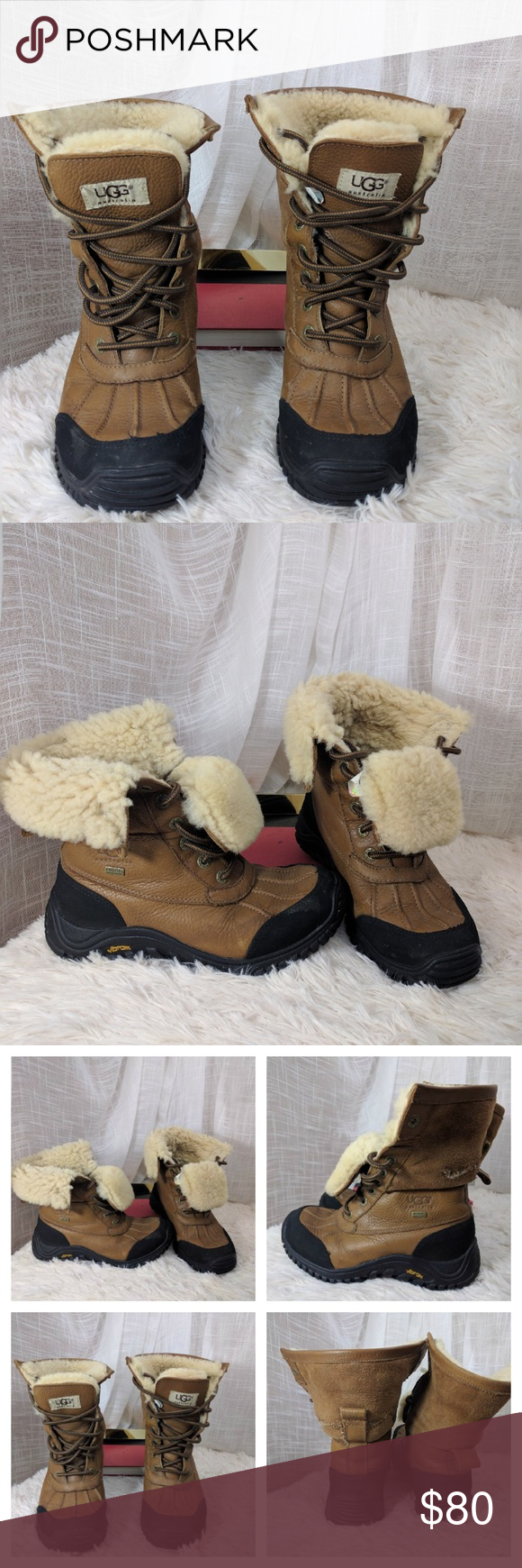 84002d9610f UGG Adirondack Boot II Women's Snow Boots in Otter These had a tear ...