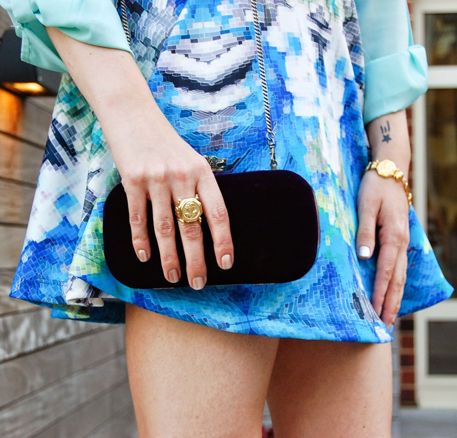 Cupcakes & Couture: What I Wore: Shades of Blue