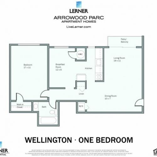 The one bedroom Wellington #ApartmentHome is available now!