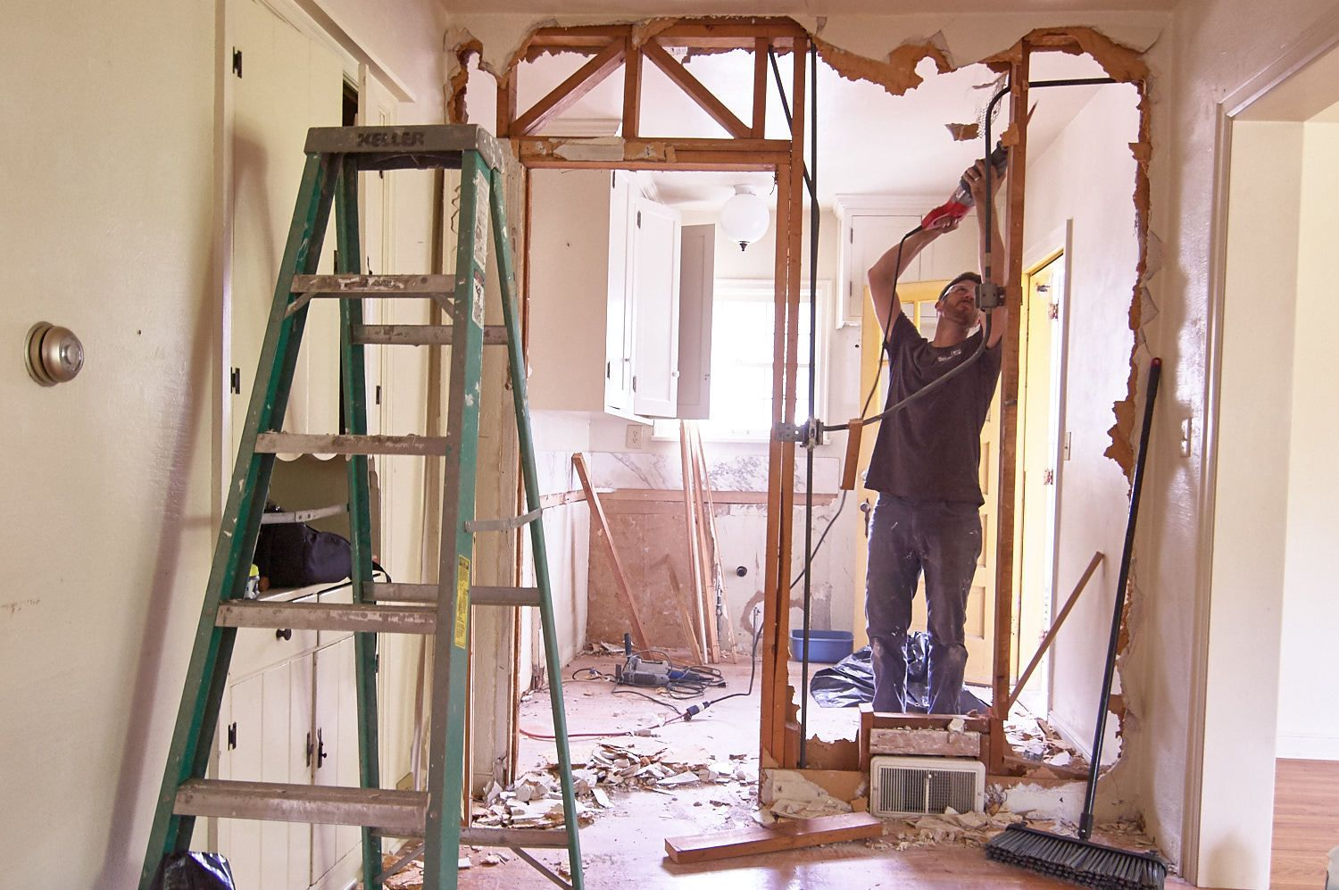 Demo A Wall In 6 Steps How To Safely Get Rid Of An Interior On Your Own Got You Just Can T Stand Having Life Anymore