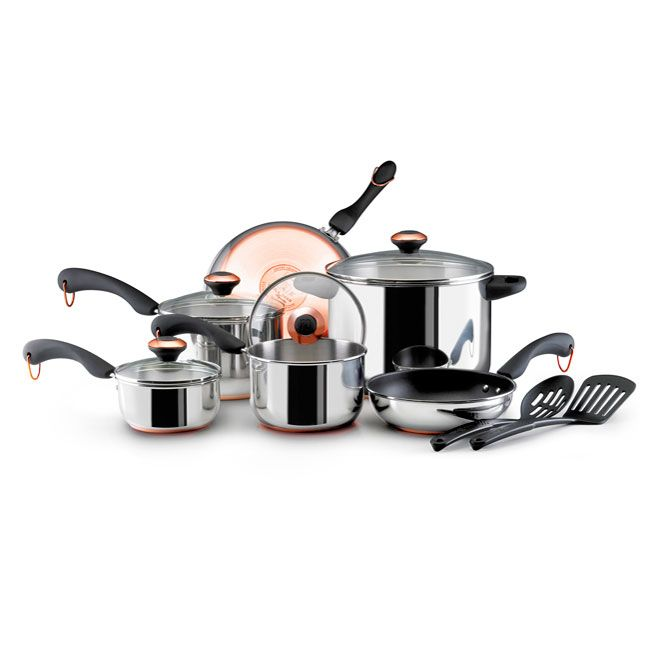 Paula deen copper bottom cookware