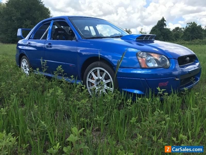 2005 Subaru WRX STi Premium subaru wrx forsale canada