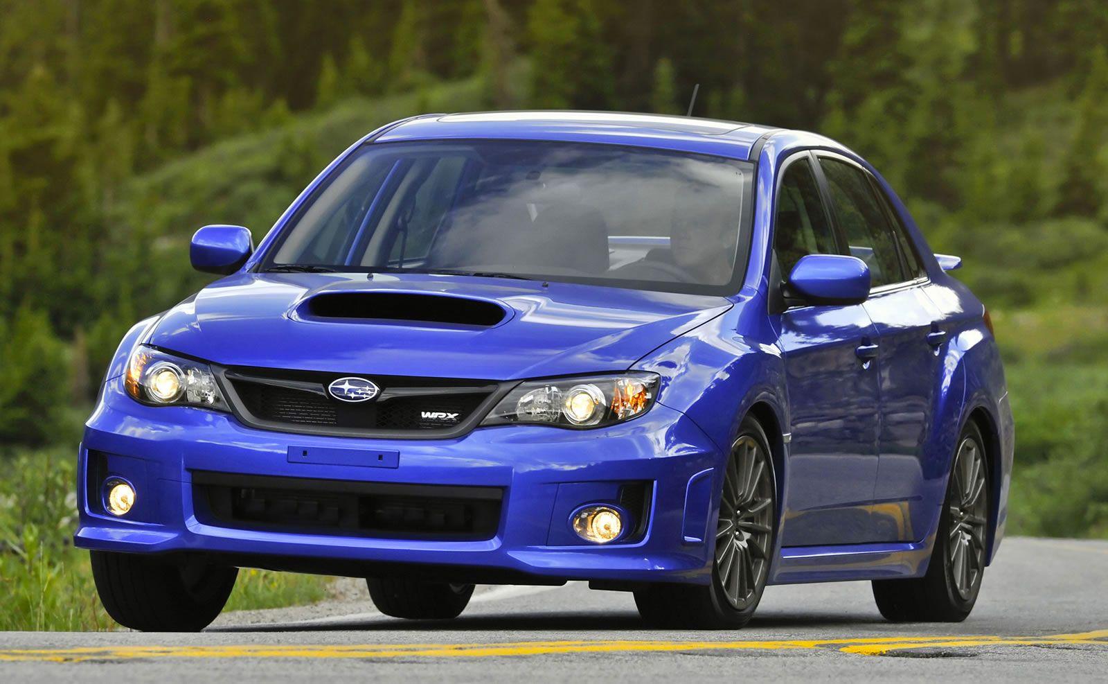 Subaru impreza wrx sti sedan 2013