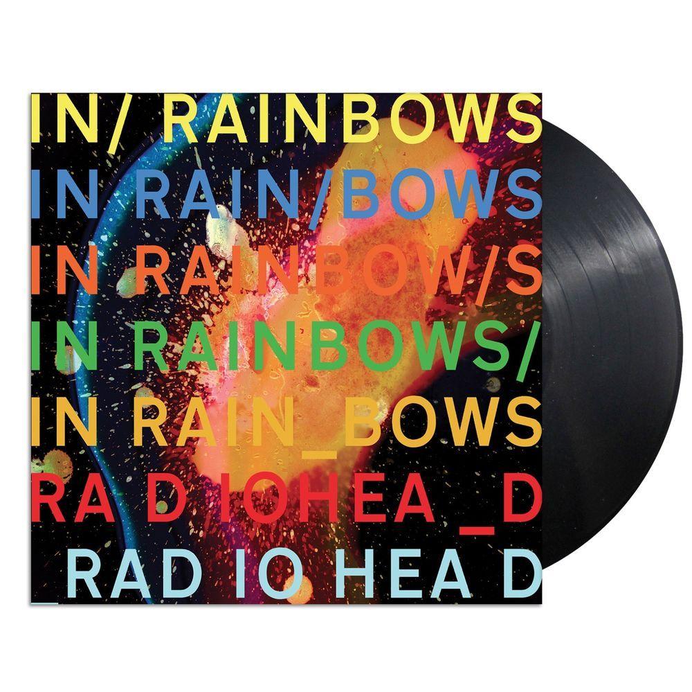 Radiohead In Rainbows Vinyl Lp Black 180 Gram Sealed New Radiohead In Rainbows Radiohead Albums Music Album Covers