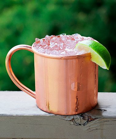 Look what I found on #zulily! Copper Moscow Mule Mug #zulilyfinds