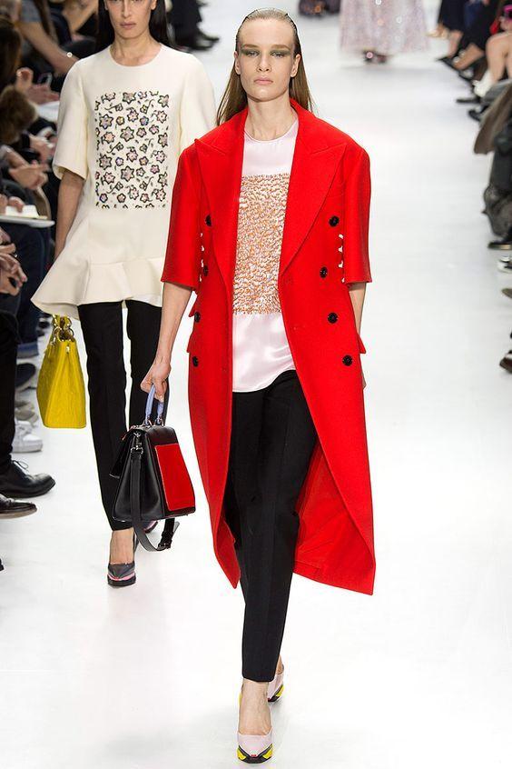Dior By Raf Simons Fall 2014 Fashion Show & More Luxury Details
