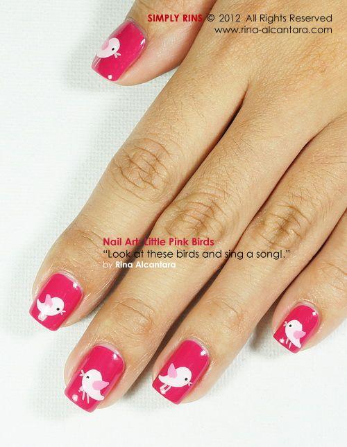 bird nails : nice inspiration !