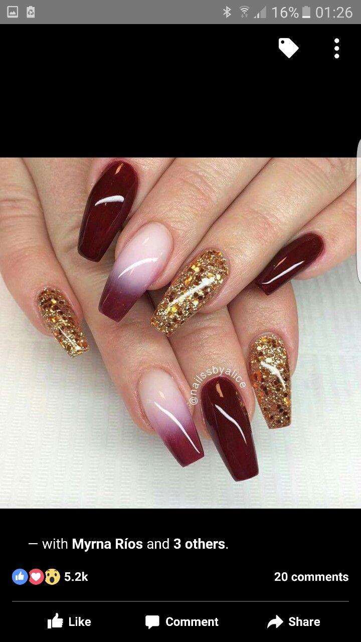 Pin by Salwa Sabet on Nails | Pinterest | Nail inspo, Nail swag and ...