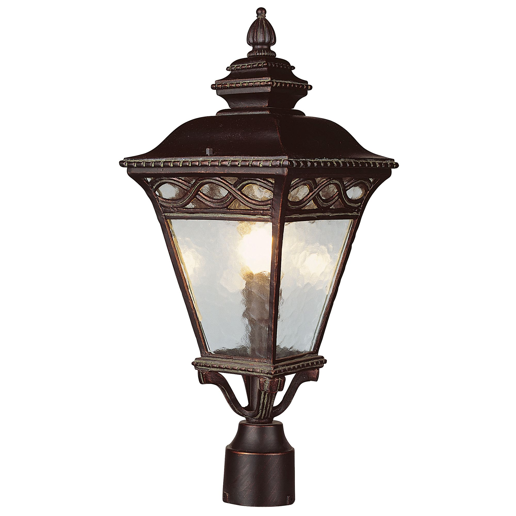 Trans Globe 50514 Brb Braided Burnished Bronze Outdoor Post Light On Sale Now Guaranteed Low Prices Call Trans Globe Lighting Outdoor Post Lights Post Lights