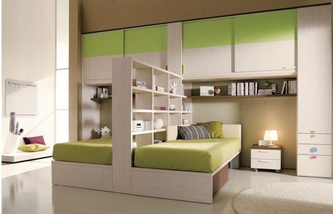 Kinderzimmer ideen für zwei  Kinderzimmer zwei Geschwister Raumteiler | Kinderzimmer ...