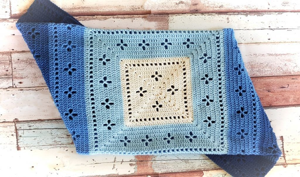 Vintage Vibes Blanket | Crochet blanket patterns, Baby ...