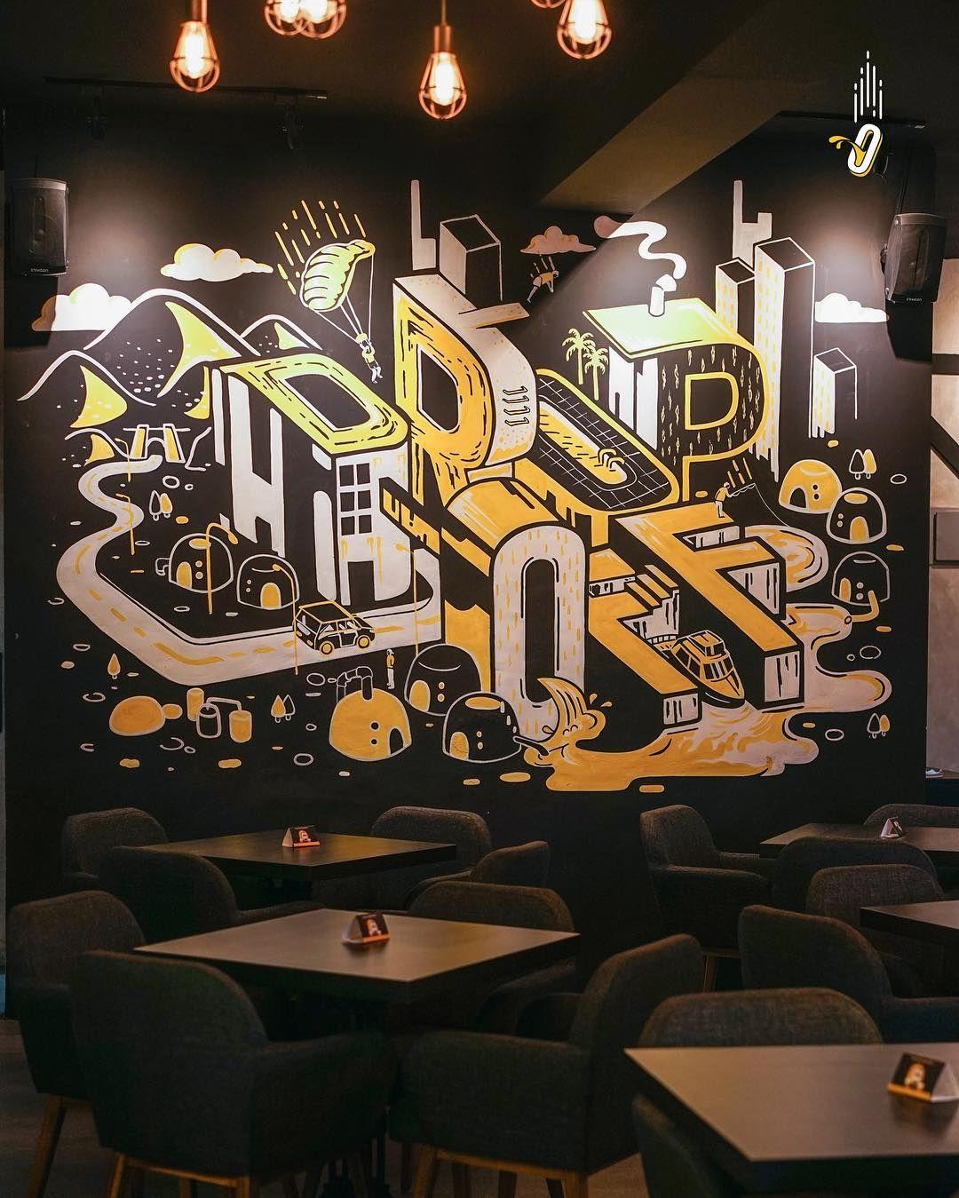 Lukisan Dinding Untuk Warung Makan