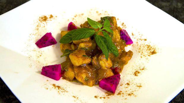 Curry-Zimt-Huhn | Rezept | So sieht's aus - kabel eins
