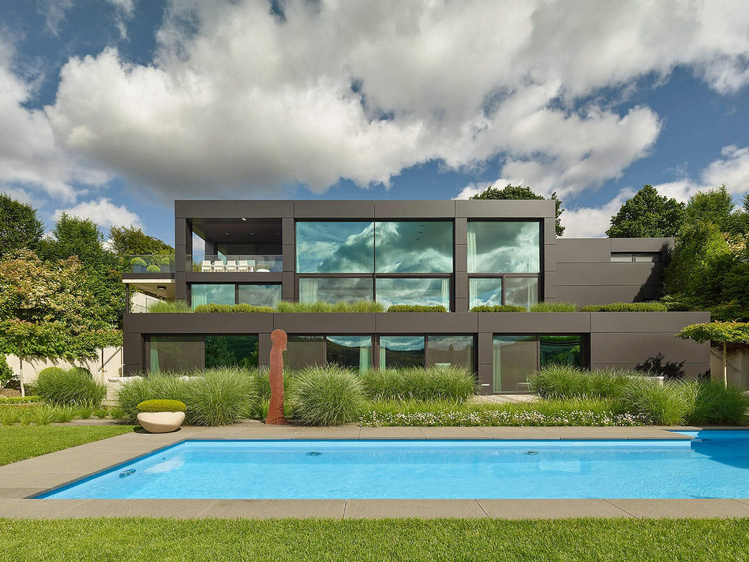 Amazing private three-storey residence is situated in Southern Germany Location: Southern Germany Year: 2016 Photo courtesy:Zooey Braun Thank you for reading this article!