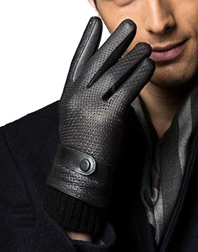 Men's Genuine Leather Fashion Design Winter Gloves with Touchscreen Technology YISEVEN http://www.amazon.com/dp/B016ORGKCE/ref=cm_sw_r_pi_dp_.nIwwb0H574YV
