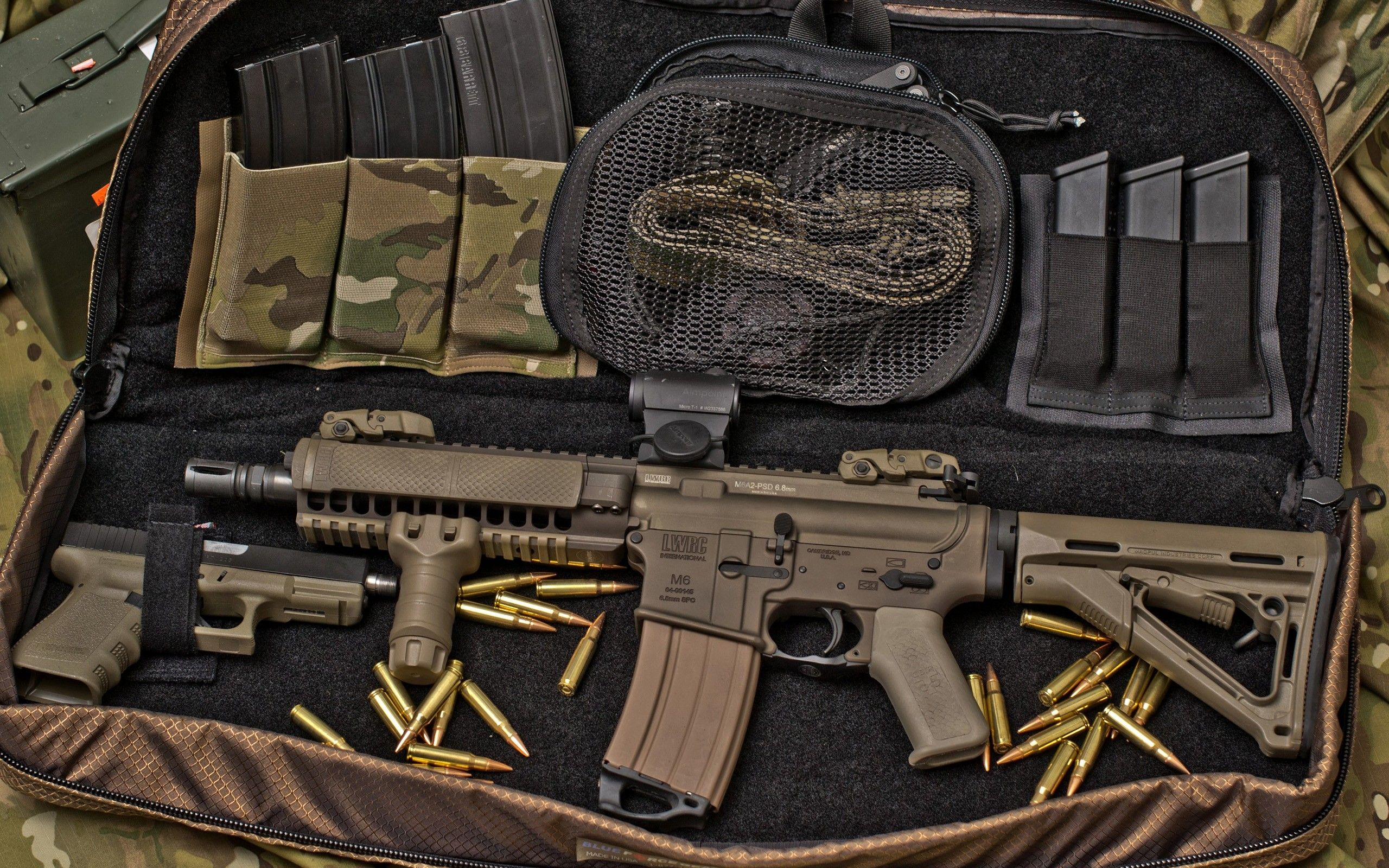 guns weapons glock magpul ar 15 m4 tactical lwrc m6 aimpoint stanag