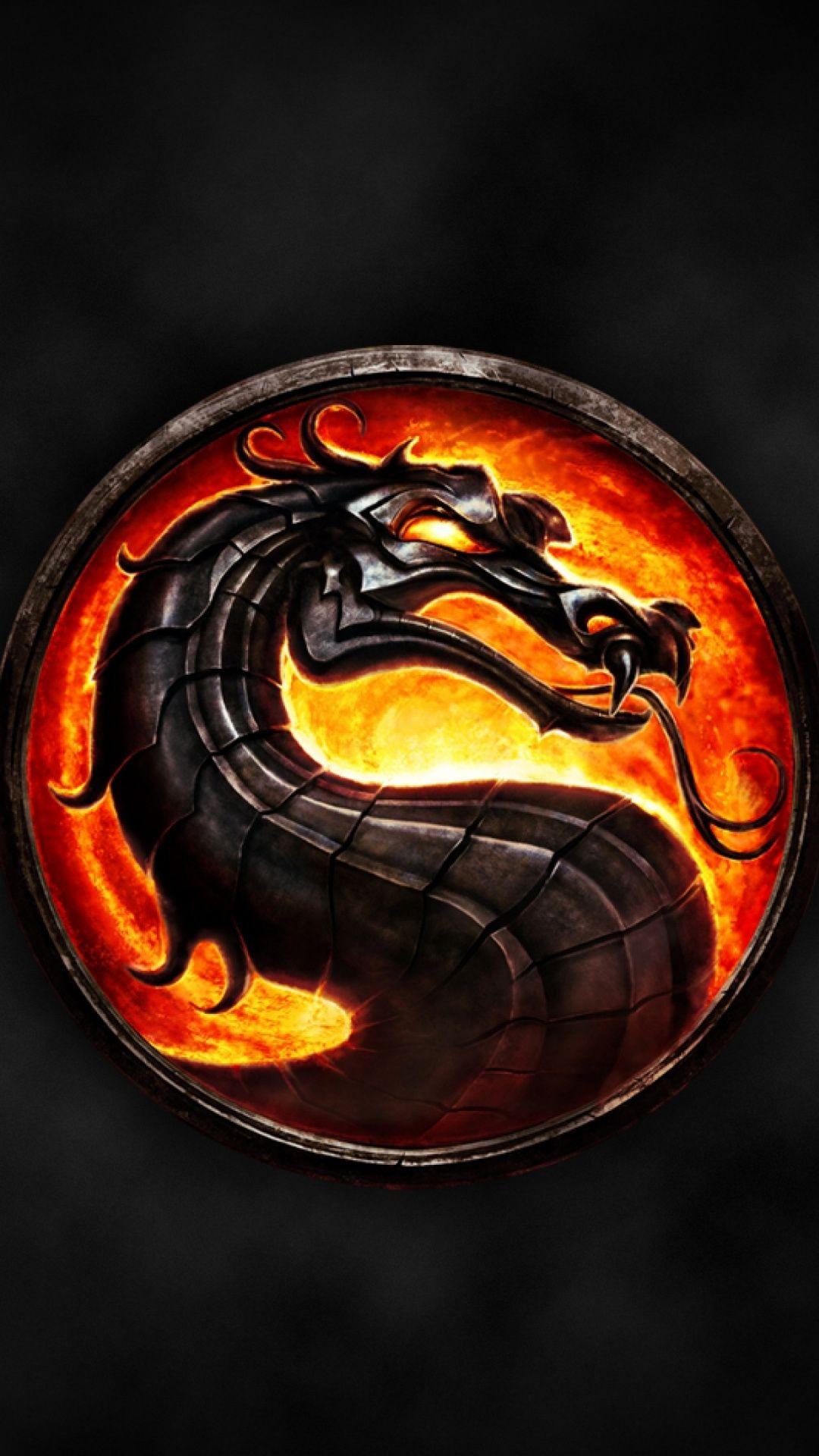 Wallpapers Symbol Scorpion Video Games Logo Mortal Kombat X