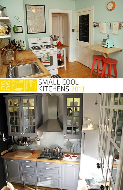 The Winners of Small Cool Kitchens 2013! Furniture/Home