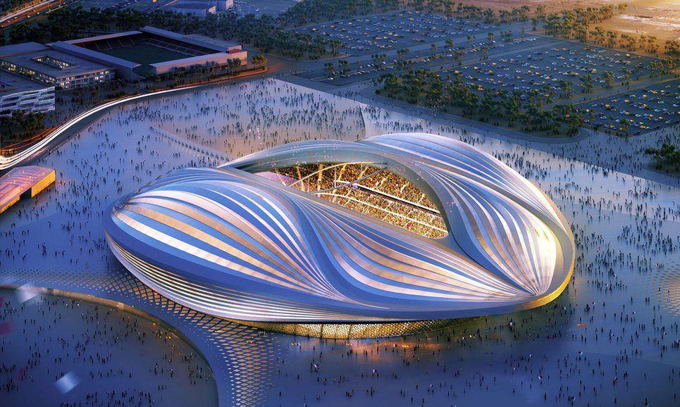 Zaha Hadid For 2020 World Cup In Qatar Zaha Hadid Architecture Zaha Hadid Design Zaha Hadid
