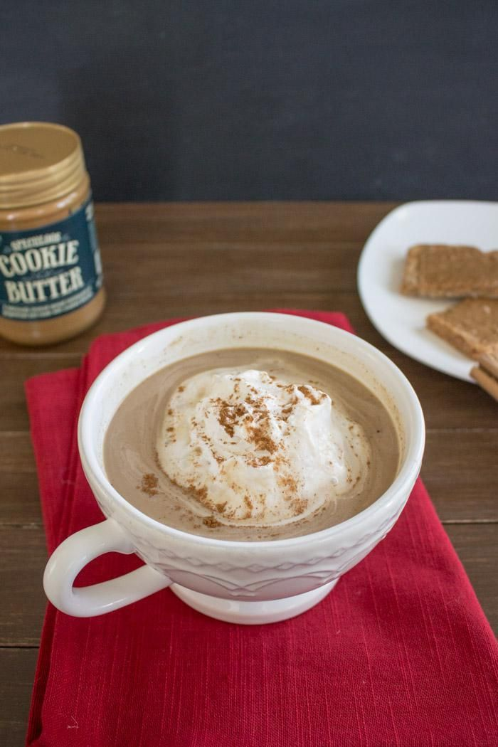 How to Make a Cookie Butter Latte.  Was a bit too cinnamony for me, but delicious otherwise!