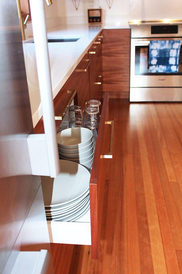 Semihandmade Mahogany IKEA Kitchen. Photo Courtesy Of