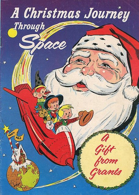 A Christmas Journey Through Space comic
