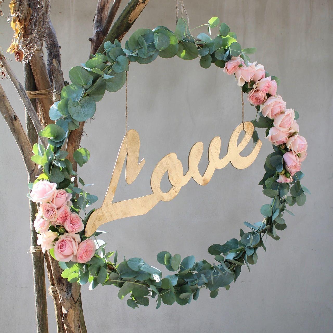 139 Ideen für eure Hochzeitsdeko - Die schönsten Inspirationen von der Trauung bis zur Tischdeko #garlandofflowers