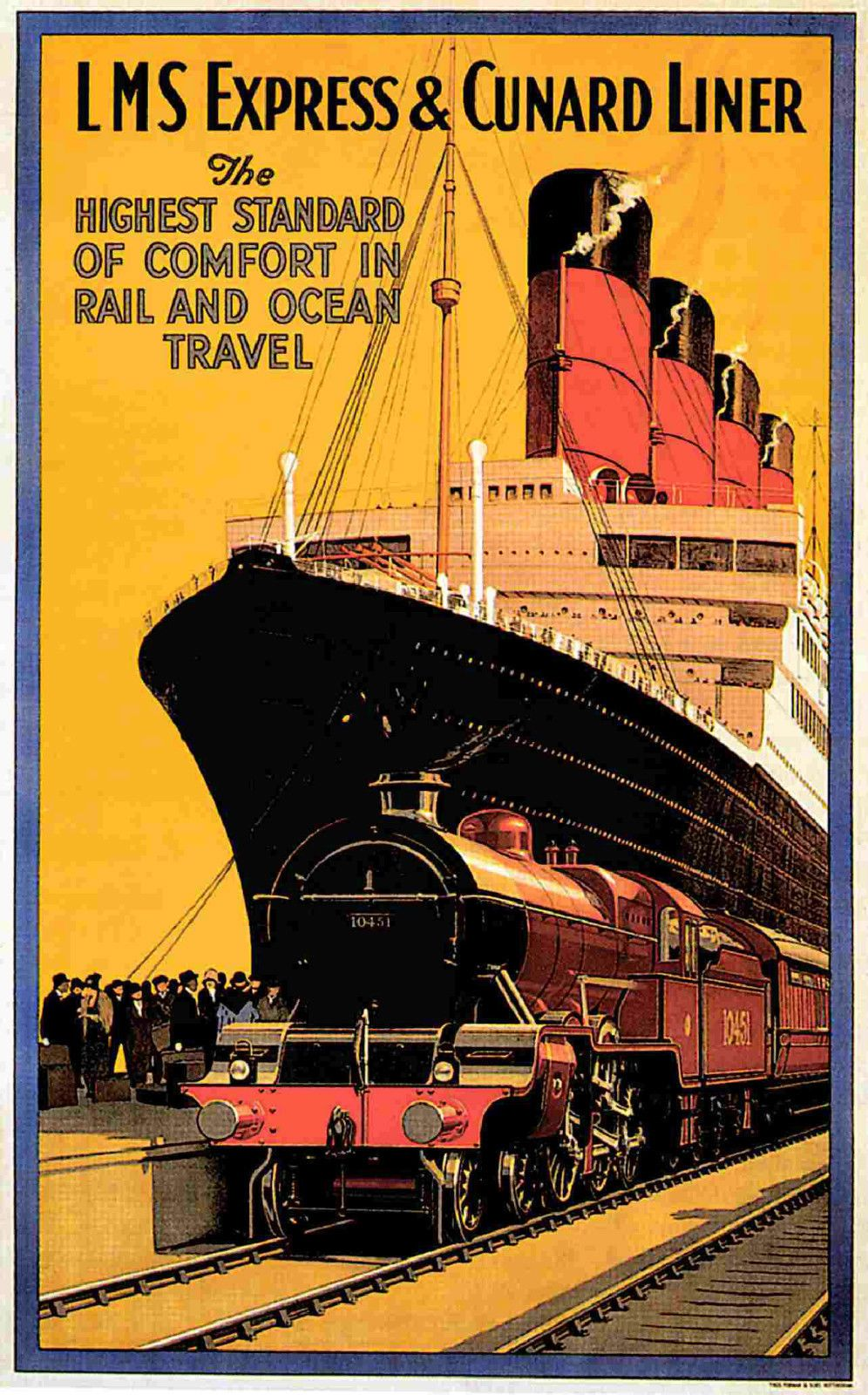 Cunard Line Vintage Posters
