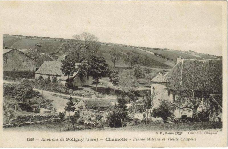 Chamole Jura Environs De Poligny Ferme Milcent Et Vieille