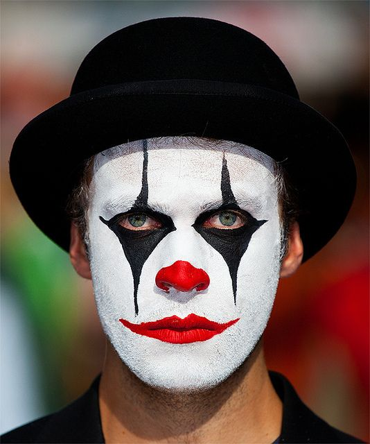 071e5de22 Sad Clown Face Paint Some clowns are happy...but | Clowning in 2019 ...