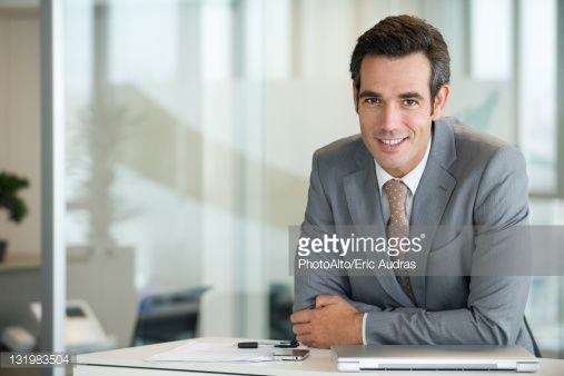 Foto de stock : Male executive, portrait