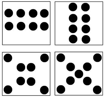 Subitizing Dot Cards 1 10 Math Number Sense Subitizing Math
