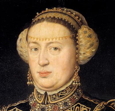 Catalina de Austria, Antonio Moro, 1552-53, Museo del Prado, Madrid