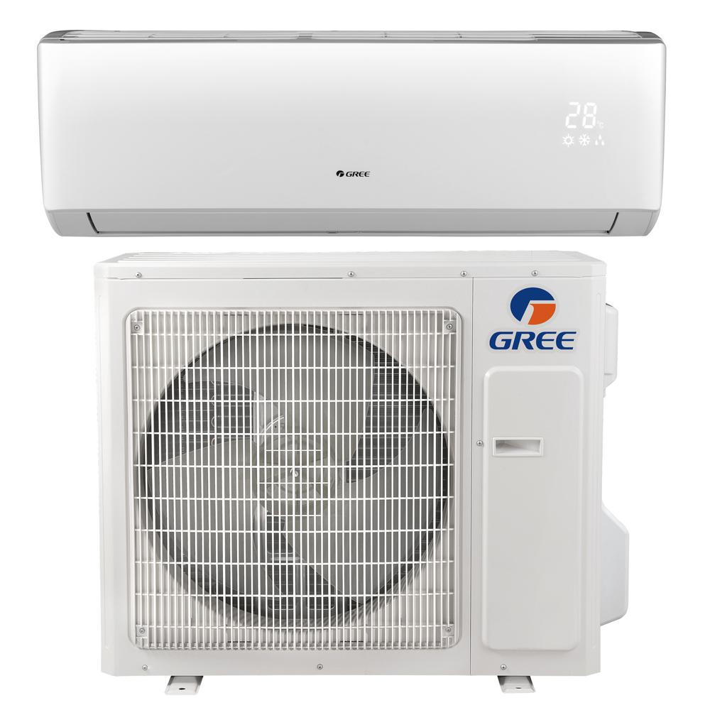 Livo 36 000 Btu 3 Ton Ductless Mini Split Air Conditioner With Inverter Heat Remote 208 230v 60hz W Ductless Mini Split Ductless Air Conditioner With Heater