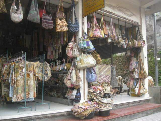Floria Art Shop, Ubud - check it out for great ikat!