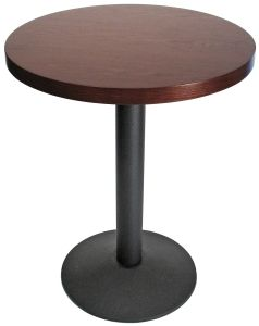 24 Inch Round Wood Veneer Restaurant Table Table Wood Veneer