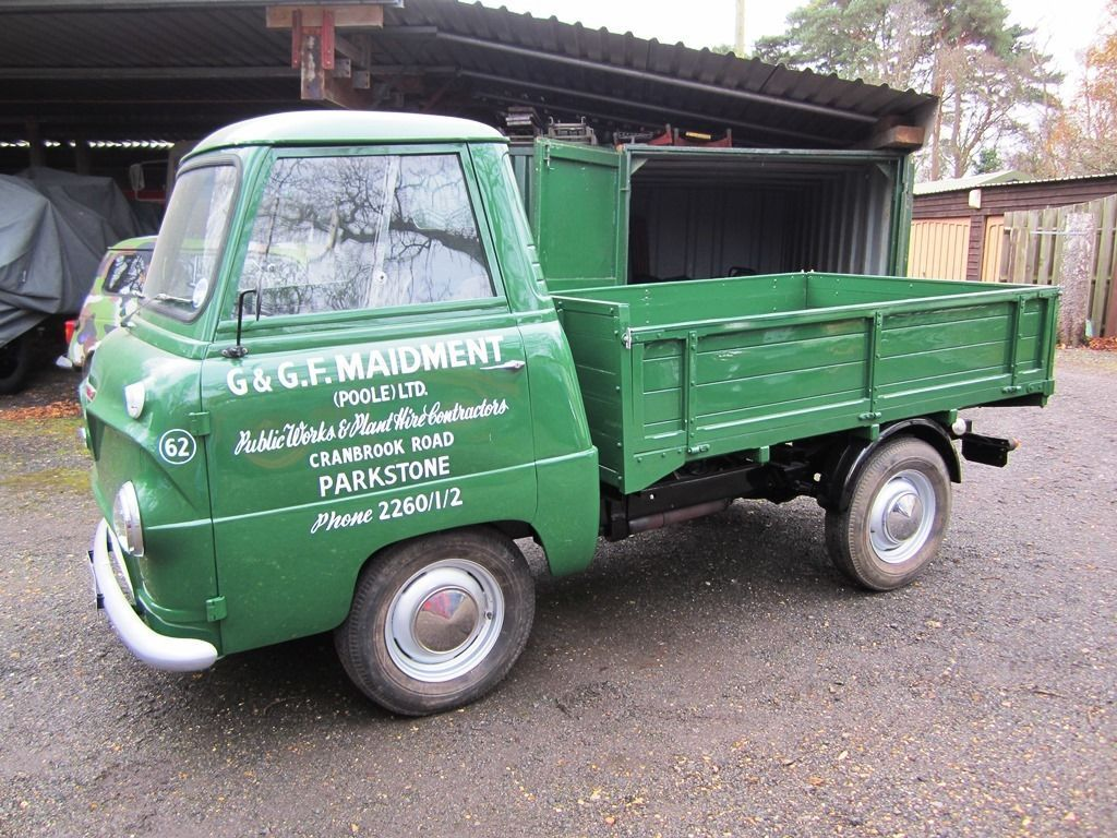 1962 Ford Thames 400e Pick Up Vintage Trucks Vintage Vans
