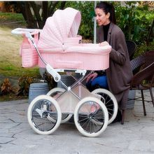 432b0241f Isabell style cool baby Retro pram baby stroller winter snow walker ...