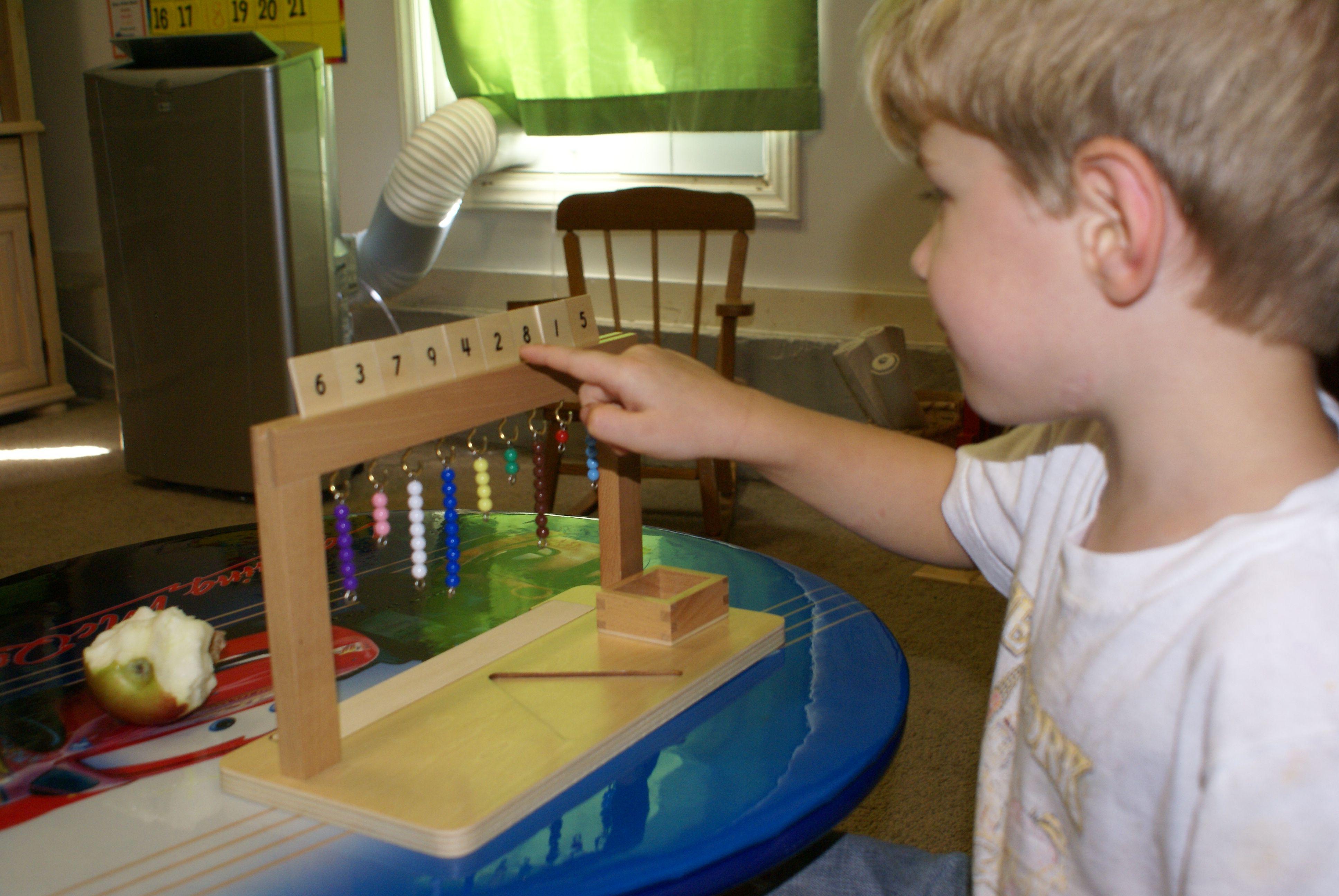 Montessori Monday – Math, Nature, & Language